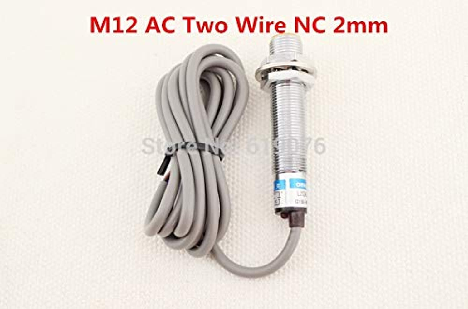 5Pcs M12 AC Two Wire NC 2mm Distance Measuring Inductive Proximity Switch Sensor LJ12A32J DZ
