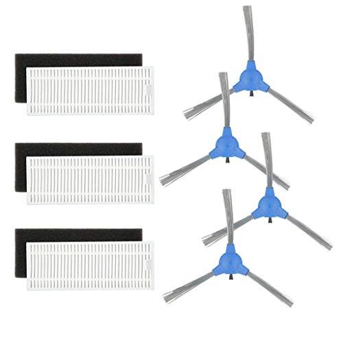 UJUNAOR Kompatibel Sweeping Roboter Zubehör Kehrroboter für Eufy RoboVac Ersatzkit 11S für RoboVac 30 30C Für RoboVac 15C(A,One size)