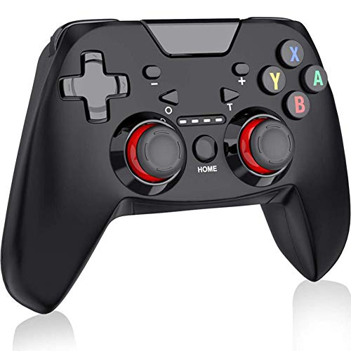 Nintendo Switch Draadloze Gamepad Bluetooth-controller Met Verstelbare Turbo Switch-controller Gevoelige Joystick Gamepad