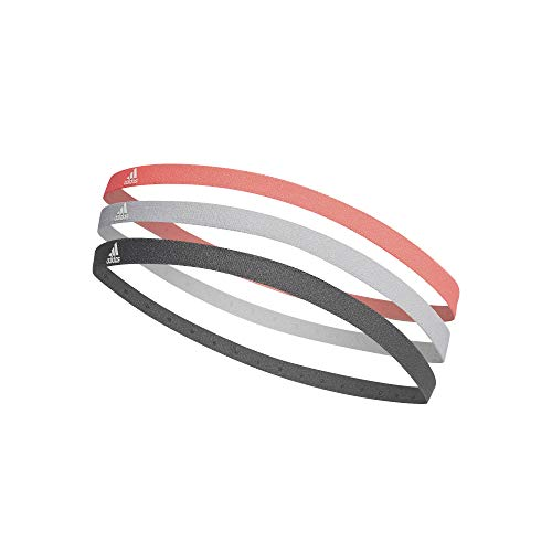 adidas 3PP Hairband Bandana, Uomo, Rossen/Gridos/Gricin, Taglia Unica