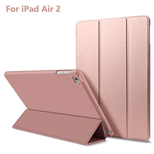 iPad Air 2 Funda, GOOJODOQ Ligero Smart Case Cover con Magnetic Auto Sleep/Wake Función Piel Sintética a Prueba de Golpes...