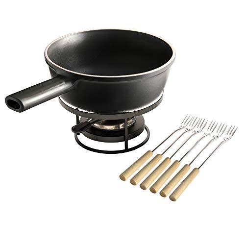 Emile Henry EH779569 Delight Set à fondue Induction, 1.2 litres