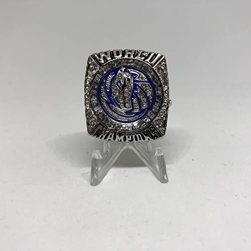2011 Dirk Nowitzki #41 Dallas Mavericks High Quality Replica Championship Ring Size 11-Silver Colored