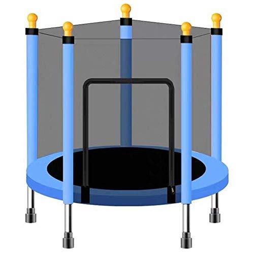 TGSC Trampolín con Caja Cerrada Mini trampolín para niños Combo de Ejercicios de Rebote Salto de Rebote Peso de Soporte hasta 120 kg Amarillo Estilo 110C
