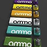 《正規品》火器Ammo LT 烟 4 装 replacement pod 電子タバコリキッド 選べる味が多数在庫 (美国吉利 利 Jelly Belly) (美国吉利 利 Jelly Belly)