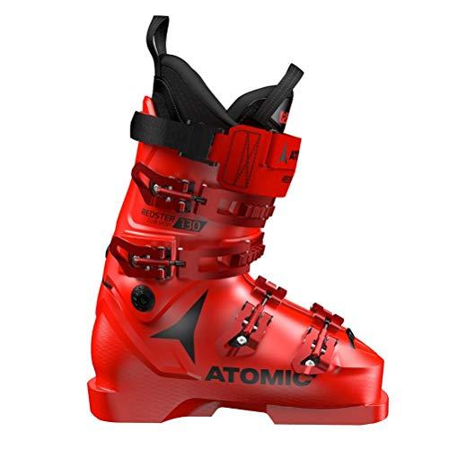 Atomic Redster Club Sport 130 Unisex Erwachsene Skischuhe, Rot - Rot/Schwarz - Größe: 45 EU