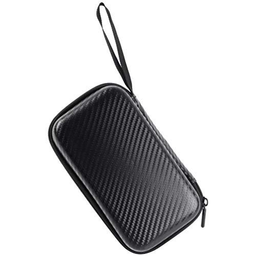 Milisten Tragbare Stirn Thermometer Aufbewahrungskoffer Thermometer Schutzbehälter Aufbewahrungsbox Stirn Thermometer Tasche Tragetasche für Zuhause im Freien