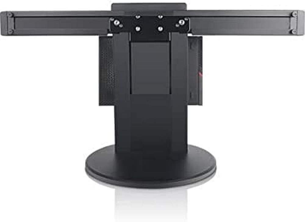 Lenovo Tiny in One - Stand for 2 Monitors/Mini PC - for Thinkcentre M600 10G8, 10G9, 10Ga and More - Black