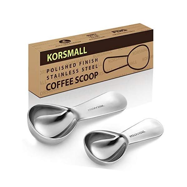 Endurance Coffee Scoops Stainless Steel