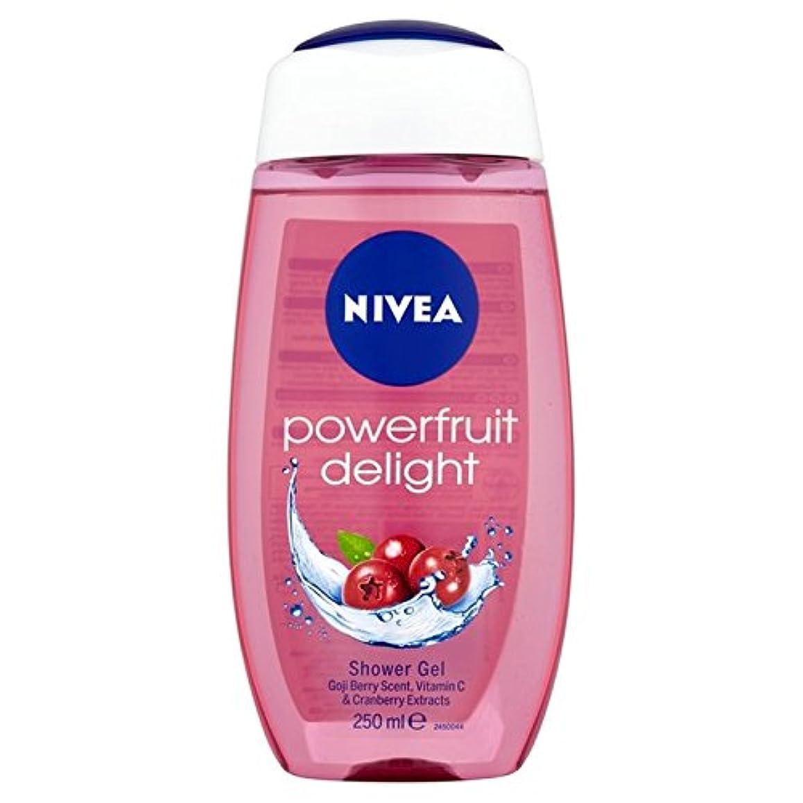 ひどくすばらしいです哀Nivea Shower Power Fruits Refresh 250ml (Pack of 6) - ニベアシャワーパワー果実は250ミリリットルをリフレッシュ x6 [並行輸入品]