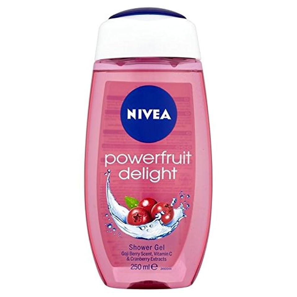 気体のドループベースNivea Shower Power Fruits Refresh 250ml (Pack of 6) - ニベアシャワーパワー果実は250ミリリットルをリフレッシュ x6 [並行輸入品]