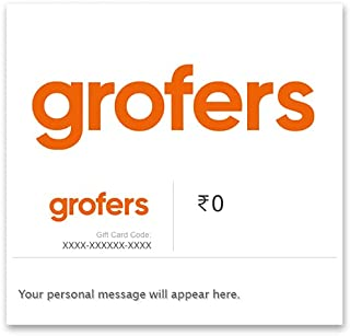 Flat 2% off at checkout  Grofers E-Gift Card