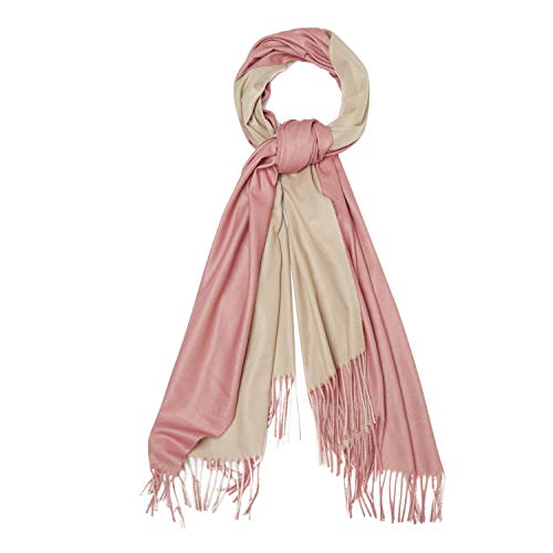 The Fabric Station kasjmier Pashmina wol wintersjaal wrap voor vrouwen lange grote dikte in 20 kleuren
