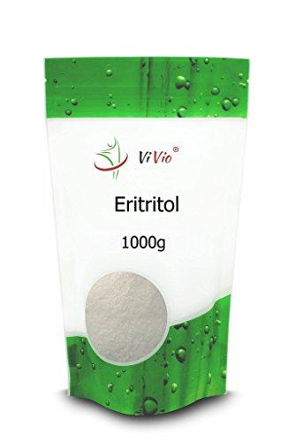 Eritritol Vivio. Edulcorante 100% Natural y Bajo en Calorías. Pack Ahorro de...