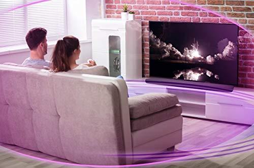 Yamaha YAS-109 Barre de son noire – Enceinte pour téléviseur avec commande vocale Alexa intégrée & Son Surround 3D – Compatible Bluetooth pour streaming sans fil