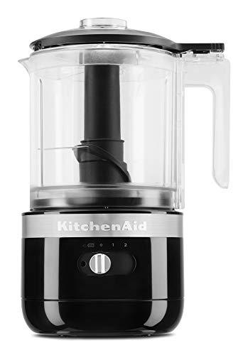 KitchenAid KFCB519OB Cordless Chopper, 5 cup, Onyx Black (B08BQXSFS2)