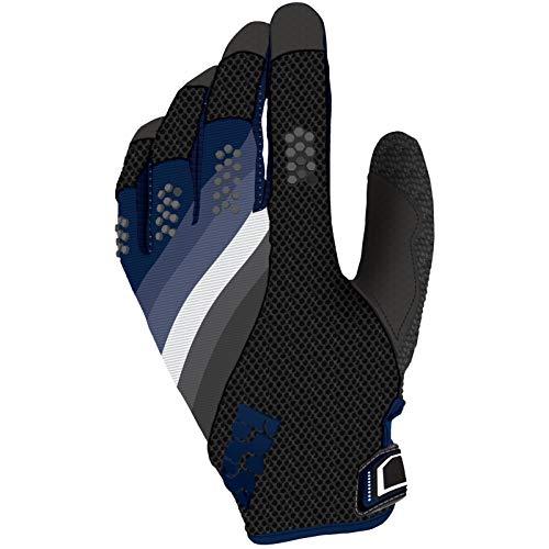 IXS DH-X5.1 MTB DH Handschuhe - schwarz dunkelblau