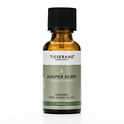 Organic Juniper Berry pure essential oil 30 ml - 100 Percent Juniperus Communis Fresh, green and woody with a softer, sweeter aroma as it evaporates to help clear the mind of negative thoughts and improve mental concentration - blends well with Cypre...