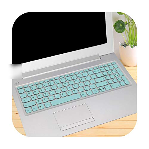 TOIT - Protector de teclado para ordenador portátil Lenovo Ideapad 320 15 15Ikbn 15Isk / 320 17 320 17Ast 17Abr Notebook whiteblue size