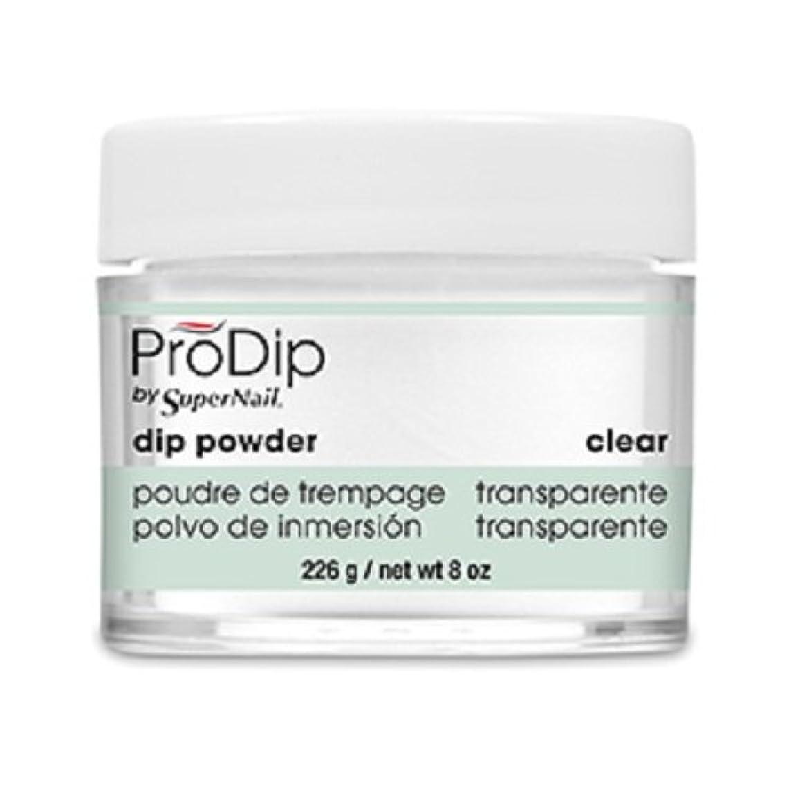 シーボード楽しませるエスニックSuperNail - ProDip - Dip Powder - Clear - 226 g/8 oz