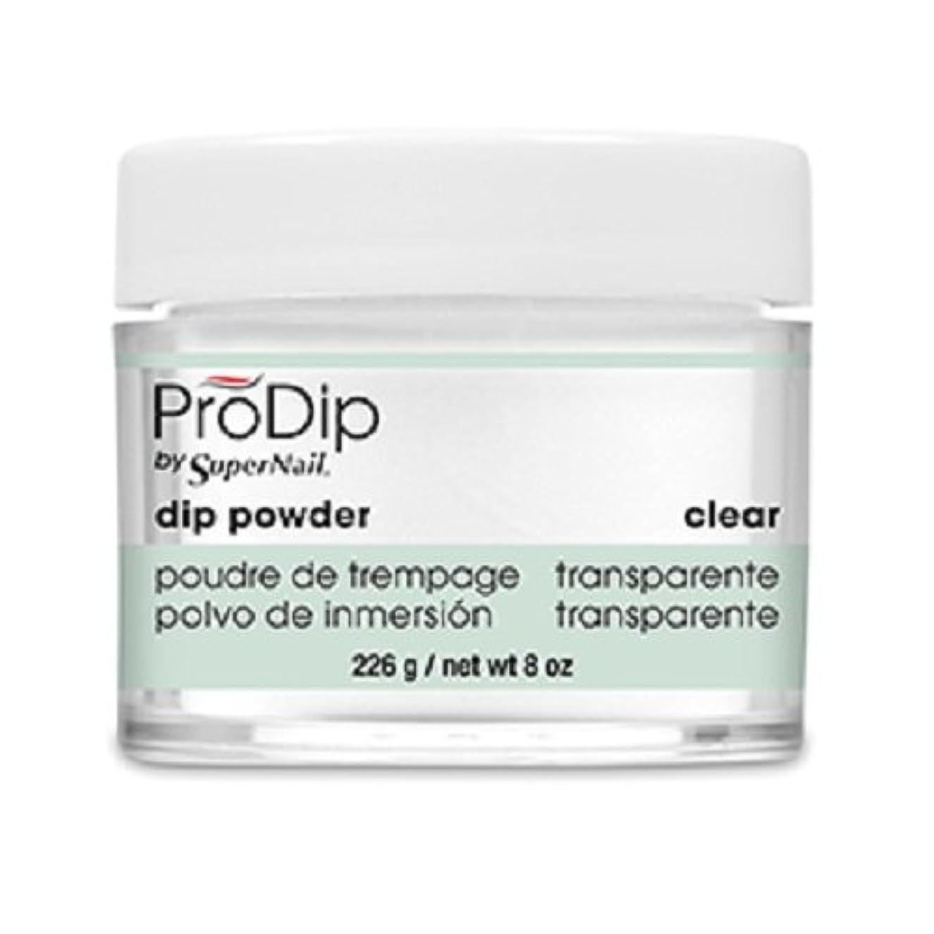召喚する距離拒絶SuperNail - ProDip - Dip Powder - Clear - 226 g/8 oz
