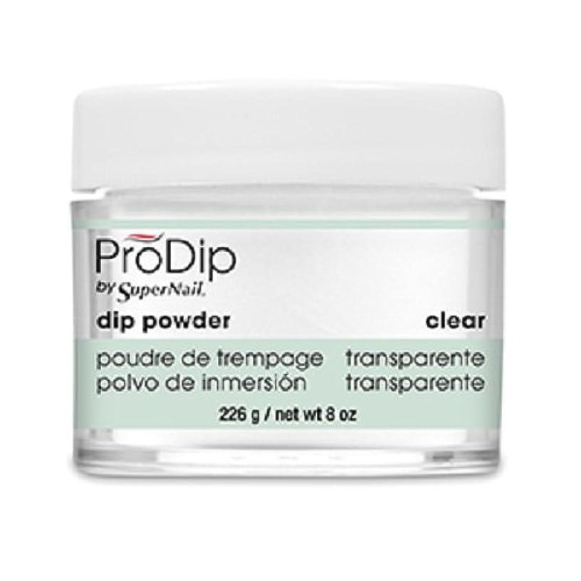 赤に負ける崖SuperNail - ProDip - Dip Powder - Clear - 226 g/8 oz