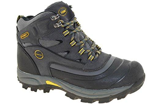 Khombu Men's Flume 2 Hiking Boots - Grey (12)