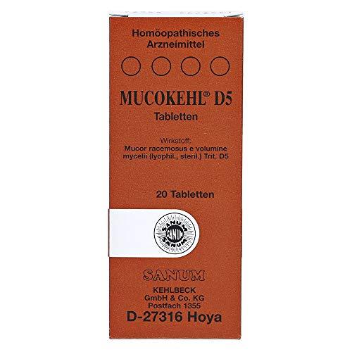 MUCOKEHL Tabletten D 5 20 St