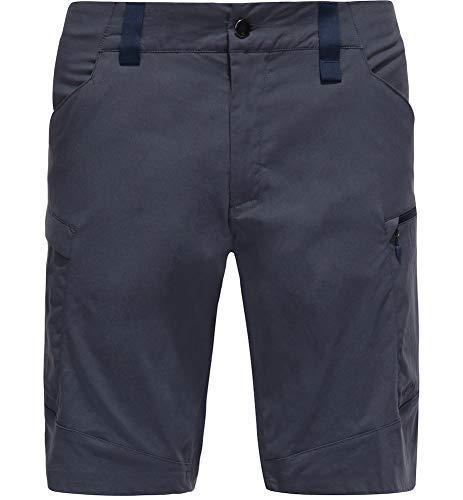 Haglöfs Kurze Wanderhose Herren Kurze Wanderhose Mid Fjell Shorts Wasserabweisend, Windabweisend, Stretch Small Dense Blue M M Medium