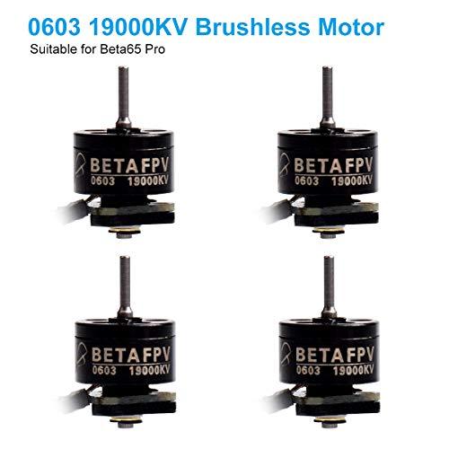 BETAFPV 4pcs 0603 Motor 19000KV Brushless Motors FPV RC for 1S Brushless Tiny Whoop Drone Multirotor Beta65pro or BWhoop B06 etc