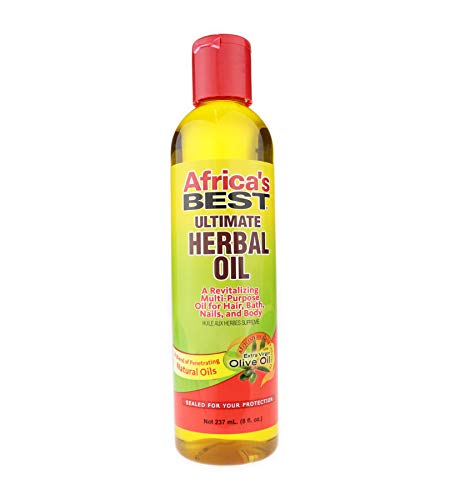 AFRICA'S BEST Ultimate Herbal Oil 8 Oz 240 ml