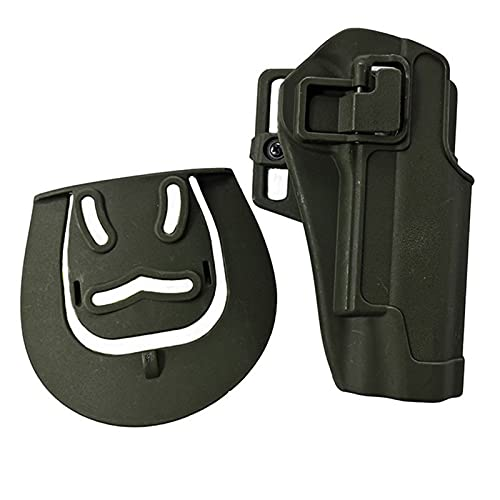 GY Funda de cinturón Airsoft Funda de Pistola táctica para Glock 17 19 Beretta M9 Colt 1911 Sig Sauer P226 HK USP Funda de Pistola de Caza General (Color : A)