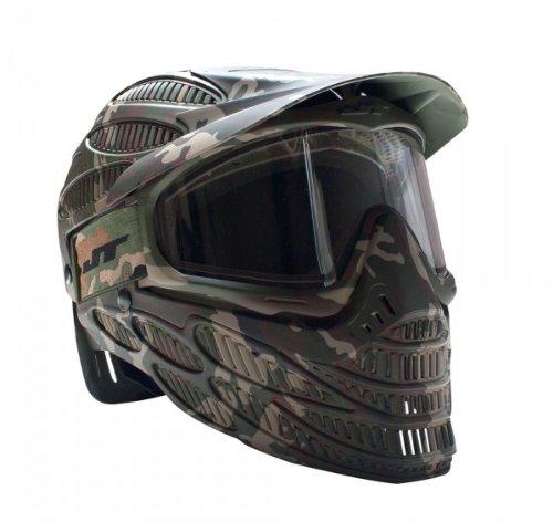 JT Spectra Flex 8 Thermal Full Coverage Goggles, Camo, Clear