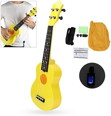 SISHUINIANHUA 21'' Plastic Four Strings T Ukulele Fort Worth Mall Pick Set Tuner New arrival