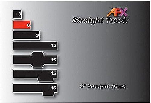 últimos estilos AFX Track, Straight 6 6 6  Pair AFX70608 by AFX Racemasters  Venta barata