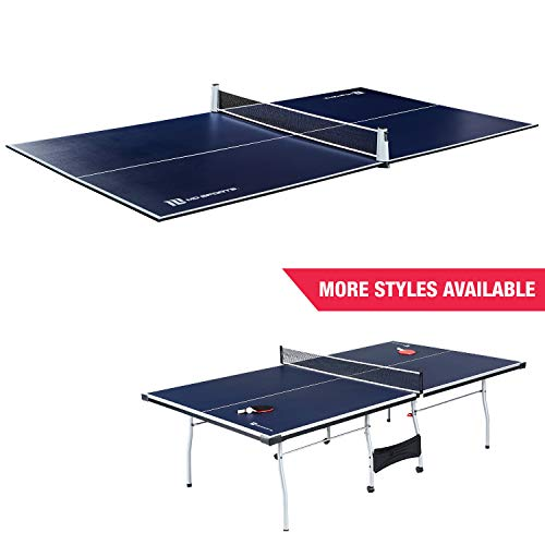 Great Deal! Ping Pong and Table Tennis Conversion Tops, Regulation Size - Folding, Portable Tennis T...