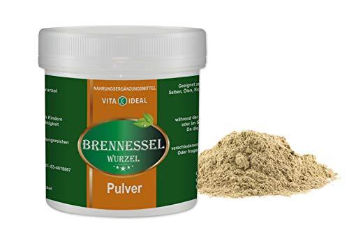 VITAIDEAL ® Brennessel Wurzel PULVER 300g (Urtica dioica) + Messlöffel