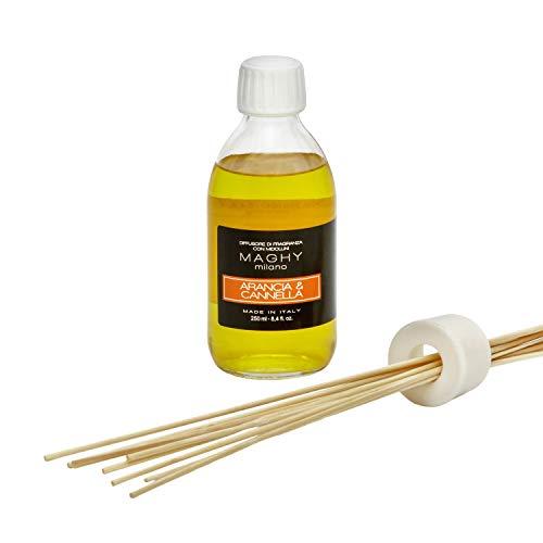 Profumatore per ambienti Maghy, da 250 ml, arancia e Cannella Arancia E Cannella