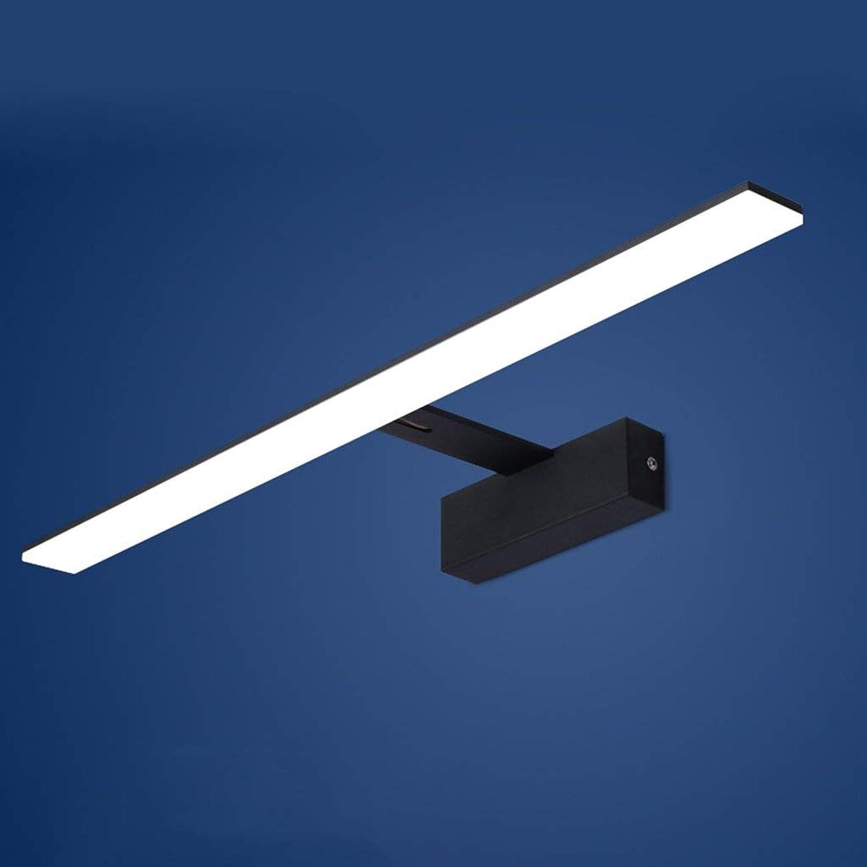 Spiegel Lampen LED-Spiegel Scheinwerfer, modernes Badezimmer Spiegel Licht wasserdicht Feuchtigkeit Toiletten Badezimmer Spiegelschrank Lampen Badezimmer Lampen (Farbe  Weies Licht-8w 42 cm