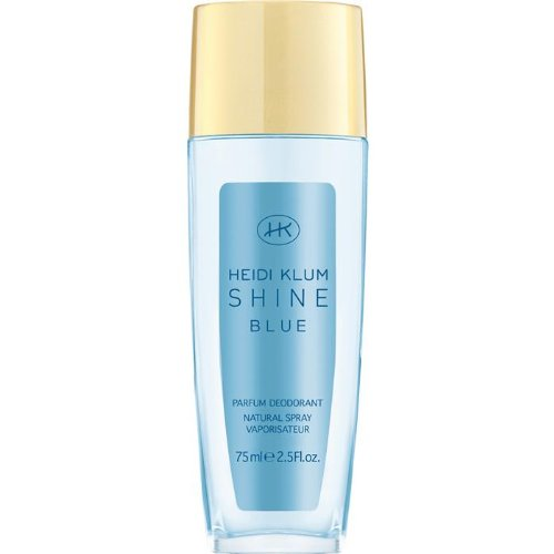 Heidi Klum Shine Blue Deodorant Natural Spray 75 ml, 1er Pack (1 x 75 ml)