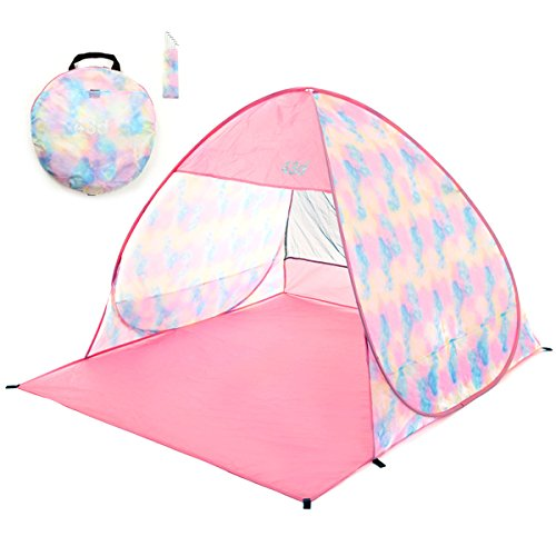 43DEGREES(43ディグリーズ)『POP UP TENT Tie Dye Small Type』