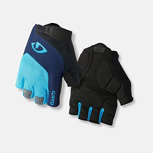 Giro Bravo Gel Bike Handschoenen blauw/zwart Handschoen maat L 2019 Volledige fietshandschoenen