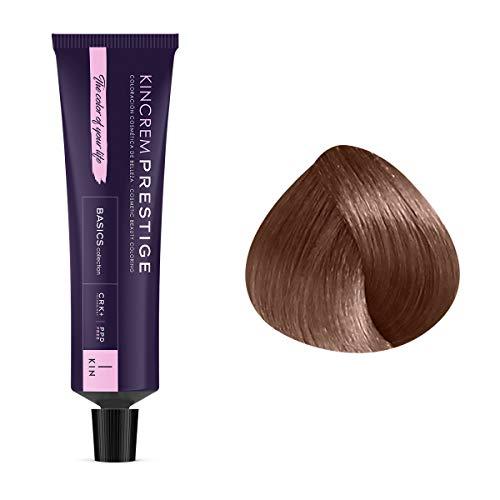 Coloration permanente enrichie à la kératine 7.1 - Blond Moyen Cendré Kin Cosmetics