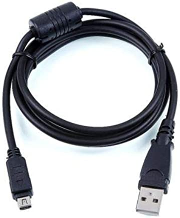 LETO USB Data Sync Cable Cord Lead for Olympus camera SP-565 UZ SP-560 UZ SP-500 UZ