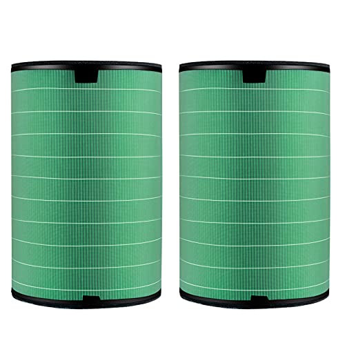 ZFAZF Air Purifiers replaces filter HEPA Filter Replacement for balmuda EJT 1380/1390/1100/1180 Air Purifier Effectively filter the odor of the air 2 pieces