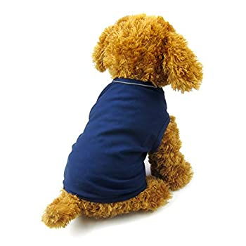 Alfie Pet - Revel Anxiety Calming Wrap Vest for Dog - Color  Navy Size  Small