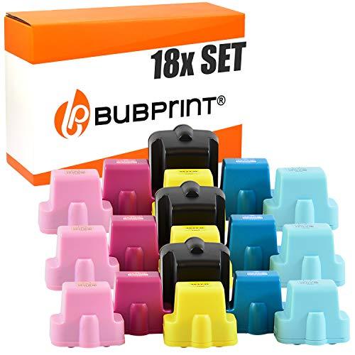 Bubprint 18 Druckerpatronen kompatibel für HP 363 HP363 für Photosmart 3100 Series 3110 3210 3310 8250 C5150 C5180 C6180 C6280 C7180 C7280 C8180 D6160