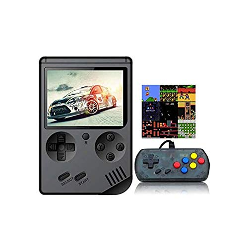 PICKME Handspiel-Konsole, Retro FC Spielkonsole 3-Zoll-Bildschirm 168 Classic Games TV-Ausgang Spiel-Spieler, Geburtstagsgeschenk Für Kinder