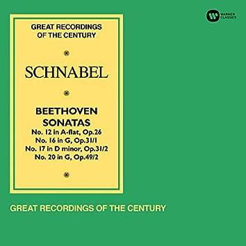 "Beethoven: Piano Sonatas Nos 12, 16, 17 ""The Tempest"" & 20"