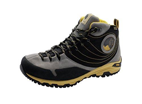 Mishmi Takin Jampui Mid Event Waterproof Light & Fast Hiking Shoe (EU 38/US W 7.5, Light Grey)